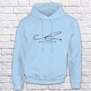 Chemical A blue hoodie