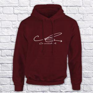 Chemical A maroon hoodie