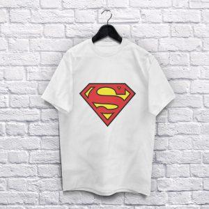 Superman White T-Shirt