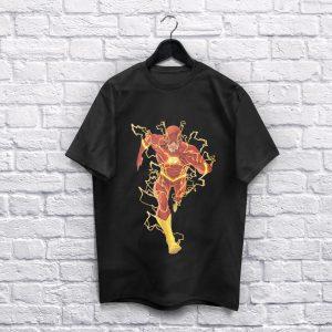 The Flash Black T-Shirt