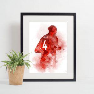 Virgil van Dijk Picture Frame