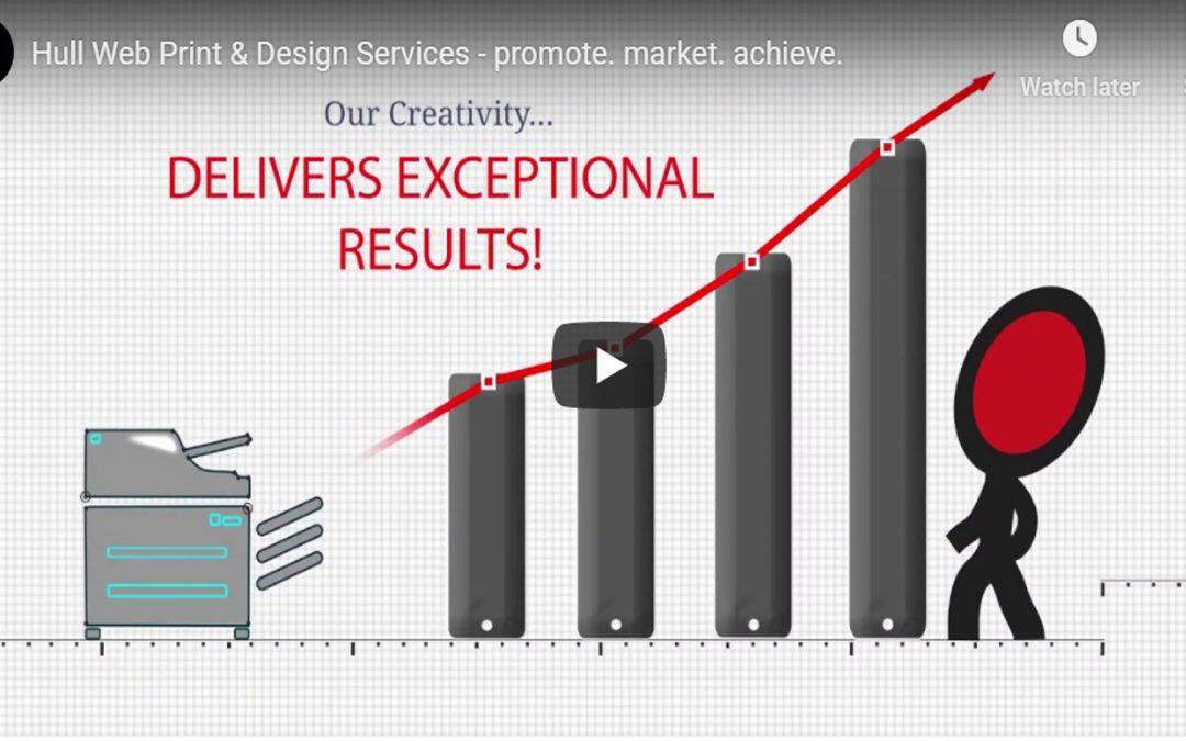 Hull Website Print & Design Services – promote. market. achieve. – Video Promo