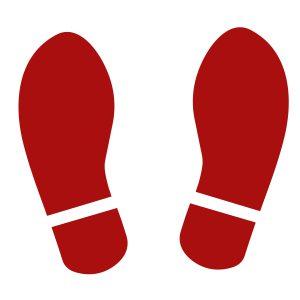 Red Vinyl Feet