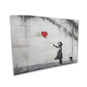 Balloon Girl Bansky canvas- 20x30