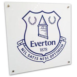 Everton Acrylic sign