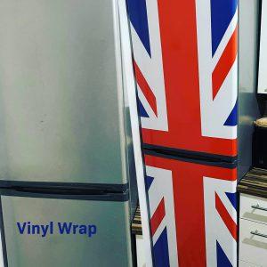 Fridge Freezer Vinyl Wrap